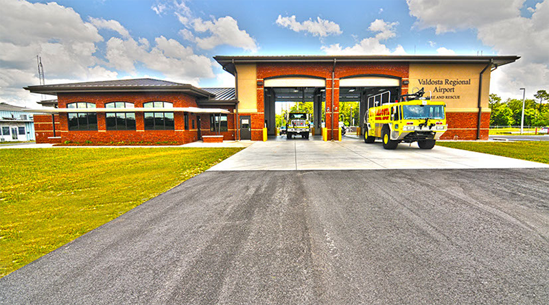 Valdosta Regional Airport: Air Rescue Fire Fighting Station
