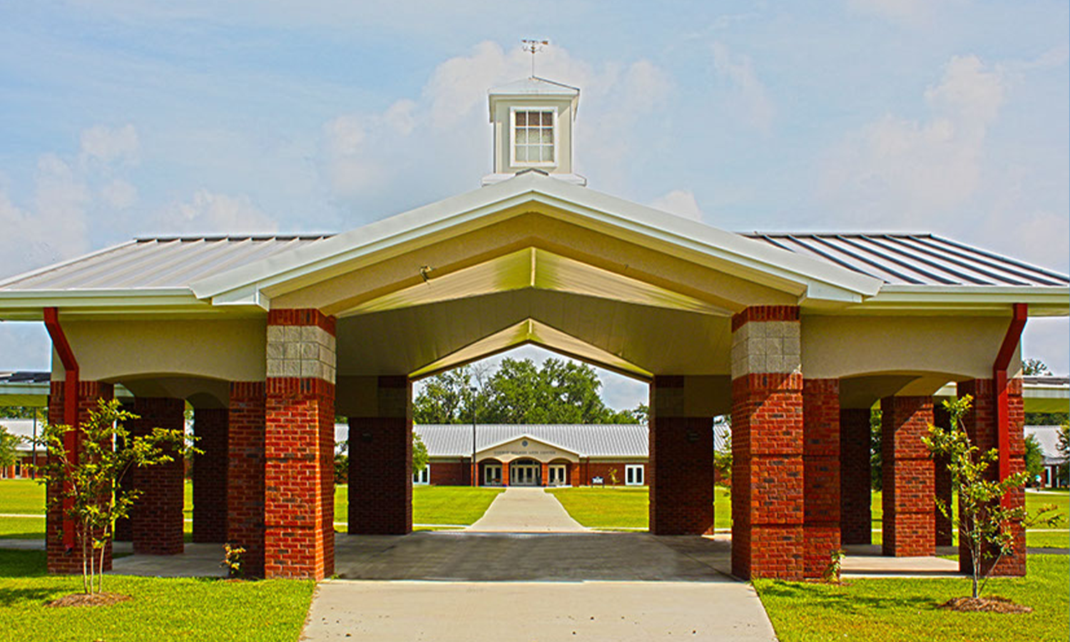 Gazebo and Fine Arts Building